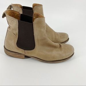 Hibou leather ankle boots